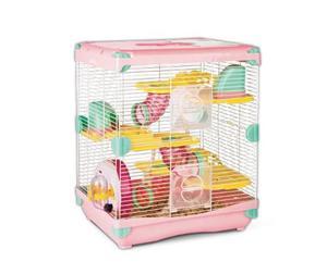 Jaula hamster todos los accesorios