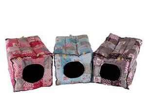Mkono hámster guinea pig cama pequeña jaulas de animales