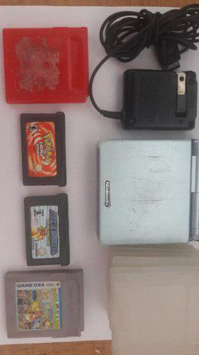 Nintendo gameboy advance sp usado