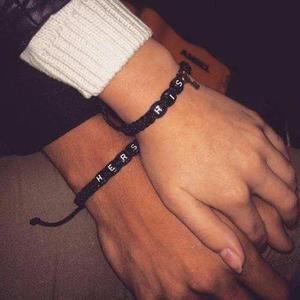 4271615262f7 Pulseras pareja amor regalo hombre mujer