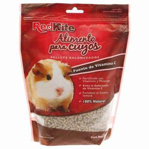 Roedores alimento pellets para cuyo redkite 850 gr.