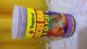 Tropical discus grand d-50 plus 110 gr alimento peces disco
