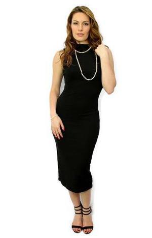 Vestido Noche Negro Rebajas Diciembre Clasf