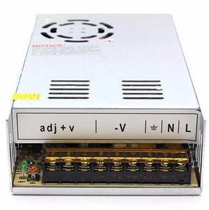 Fuente poder 24v 15a 360w cnc led transformador ledshopmx