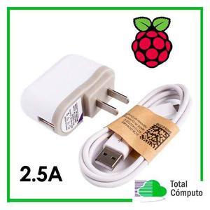 Fuente poder eliminador cargador raspberry pi