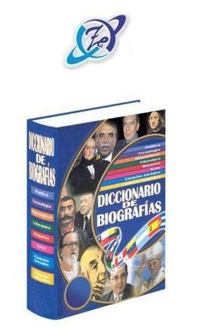 Diccionario de biografías 1 vol zamora
