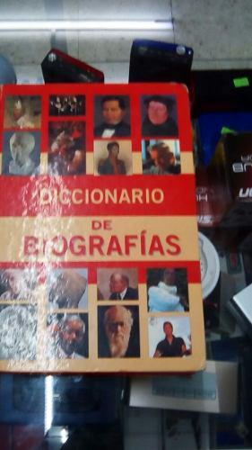 Enciclopedia super nauta diccionario de biografias 1 tomo