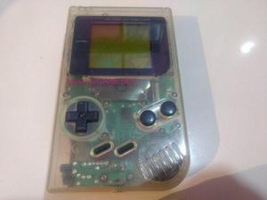 Gameboy clásico tabique transparente