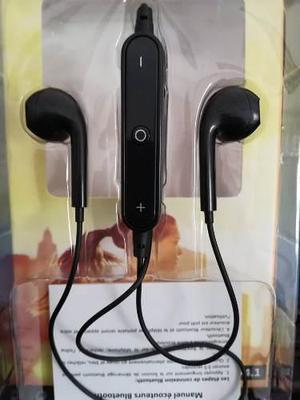 Lote 5 audífonos bluetooh sports estereo con microfono