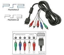 Cable componente hd para ps2 y ps3 envio gratis! disponible