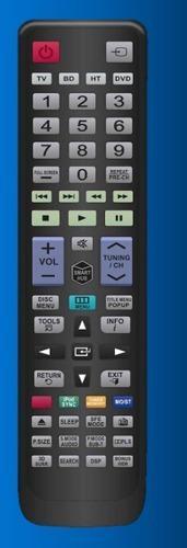 Control remoto tv sharp para pantalla smartv led plasma lcd