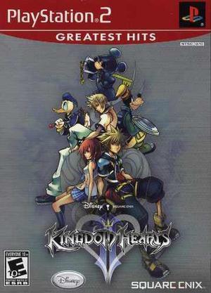 Play station 2 - kingdom hearts 2 nuevo/sellado