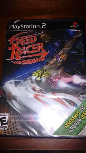 Speed racer play 2 nuevo sellado precio excelente