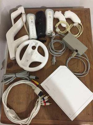 Wii, accesorios y juegos paquete