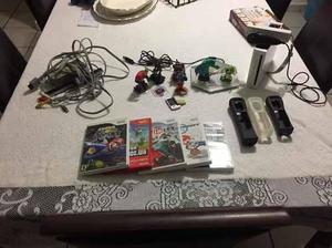 Wii con juegos, accesorios y mas.