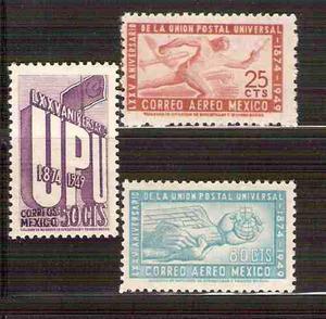 1950 méxico upu unión postal universal eppens mnh
