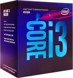 Procesador intel core i3 8100 quad core octava generación
