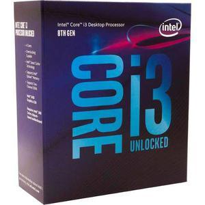Procesador intel core i3 8350k 1151 4ghz quad core 8mb