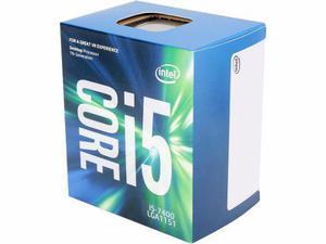 Procesador intel core i5 7400 3.0hz quad core lga1151 bx8067