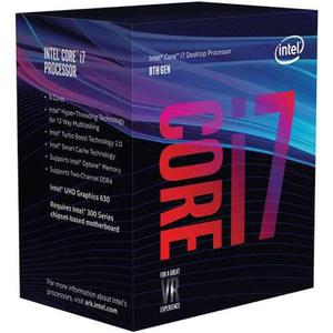 Procesador intel core i7 8700 3.2 ghz six core 12 mb 1151