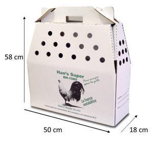 20 caja de transporte para gallos envio gratis