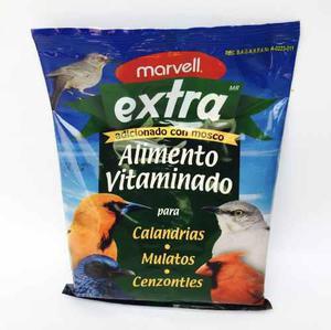 Alimento extra 1 kg alimento para cenzontles, calandrias etc