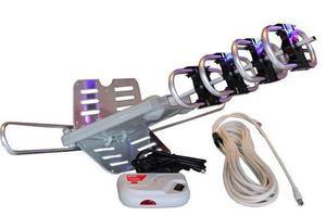 Antena aerea giratoria 360° motorizada control remoto hdtv