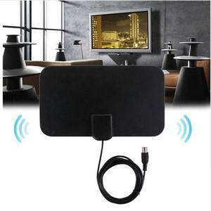 Antena tv/hdtv digital interior ultra delgada alcance 80km