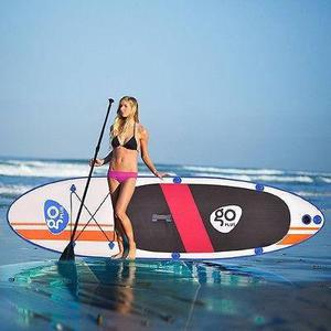 Goplus 10' inflables stand up paddle board sup aleta pa-5366