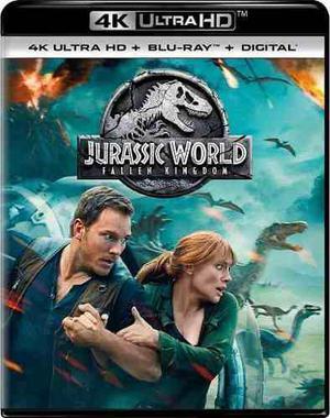 Jurassic world: el reino caído 4k bluray digital