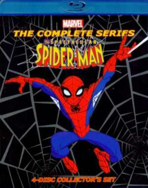 Marvel the spectacular spider-man la serie completa blu-ray