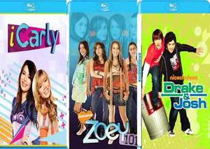 Series i carly zoey 101 drake y josh latino completas bluray