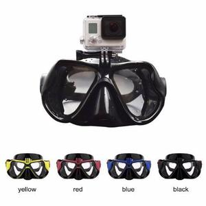 f142a65ba Visor mascara buceo snorkel p camara deportiva go sj4000 pro