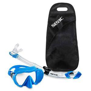 Visor y snorkel seac profesional buceo pesca submarina apnea