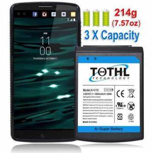Caso de 10800mah caliente/negro batería extendida para