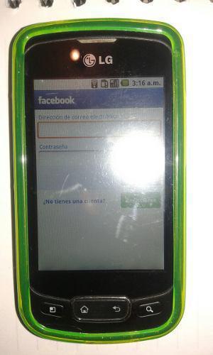 Celular lg p500h (optimus)