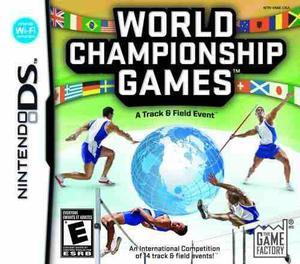Juegos campeonato mundial: la evento atletismo - nintendo ds