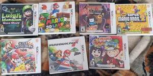 Juegos Nintendo 3ds Mario Kart Smash Bros Ma 3dland Lote En Mexico