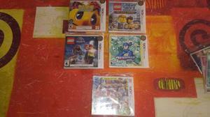 Juegos nintendo 3ds(pac man,megaman,lego)