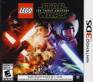 Lego star wars the force awakens juego nintendo 3ds karzov