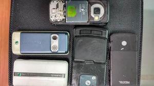 Lote celulares antiguos varias marcas