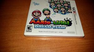 Mario & luigui dream team 3ds nuevo y sellado