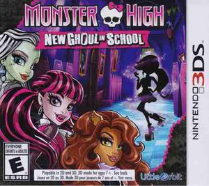 Monster High New Ghoul In School Juego Nintendo 3ds Karzov En Mexico