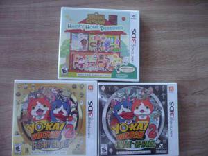 Nintendo 3ds Juegos Nuevos Pokemon Mario Maker Yokai En Mexico