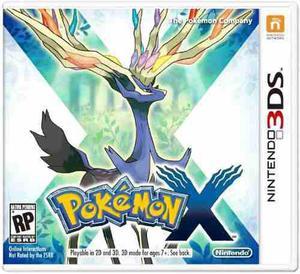 Pokemon x::. para nintendo 3ds en start games