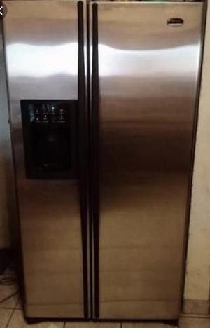 Refrigerador duplex ge, acero inoxidable