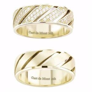 2e42fc151192 Argollas de matrimonio 7mm fit par! anillos boda oro de14k en México ...