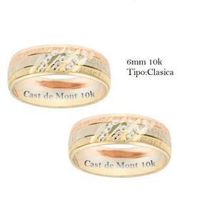 a399cb8d4709 Argollas de matrimonio florentina 6mm anillos boda oro10k en México ...