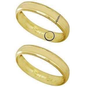 082a3687a8a3 Argollas de matrimonio oro 10kt 4mm precio por par en México ...