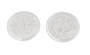Arras de matrimonio chapa de oro monedas centenario mod. 424